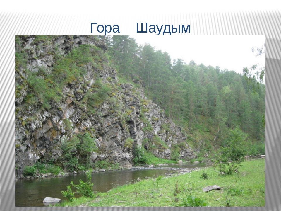 Гора Шаудым