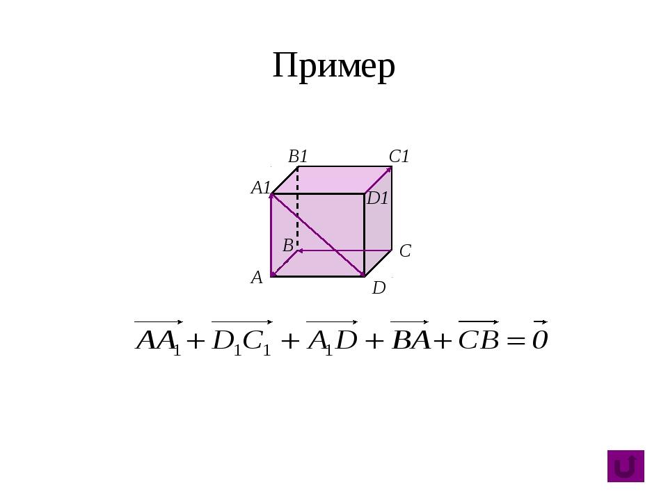Свойства B А C D A1 B1 C1 D1