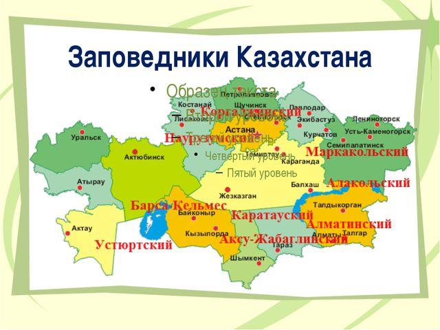 Заповедники Казахстана