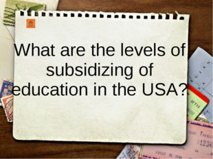 How much does the education at private schools in the USA cost?