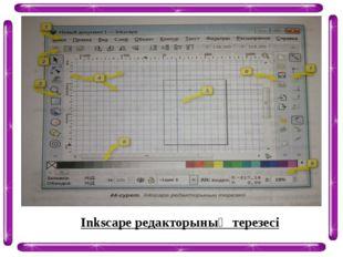 Inkscape редакторының терезесі