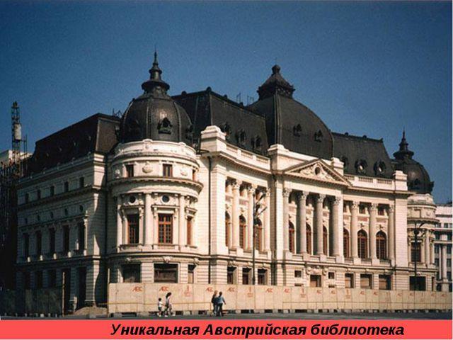 Уникальная Австрийская библиотека