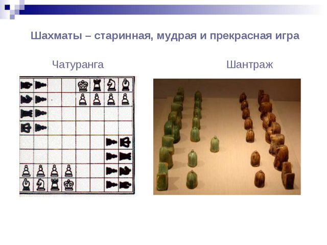 Шахматы – старинная, мудрая и прекрасная игра Чатуранга Шантраж
