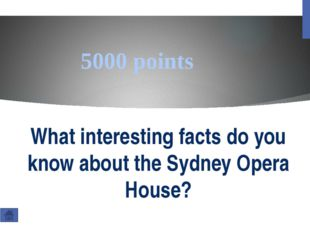 400000 points How many rooms are there in the Sydney Opera House?
