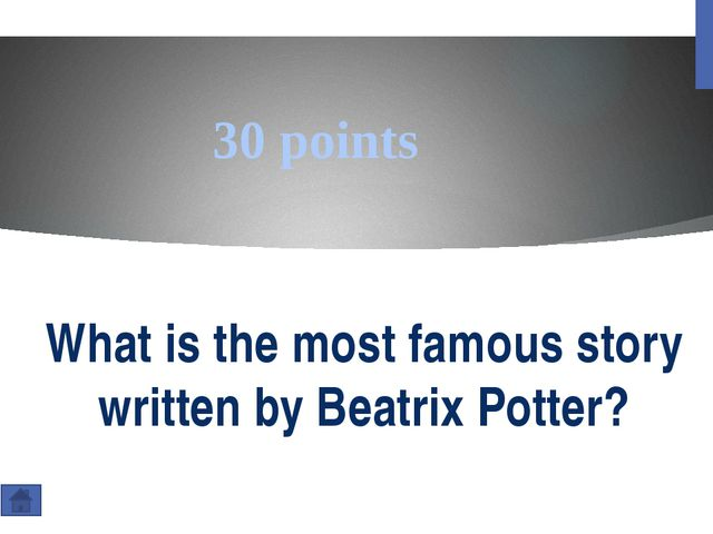 20 points How many stories did Beatrix Potter write?
