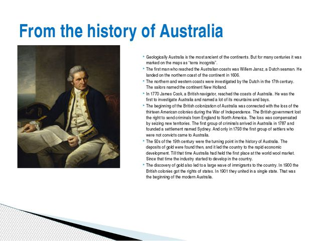 Geologically Australia is the most ancient of the continents. But for many ce...
