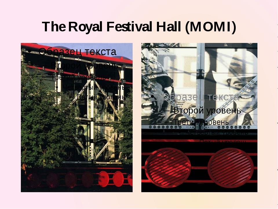 The Royal Festival Hall (MOMI)