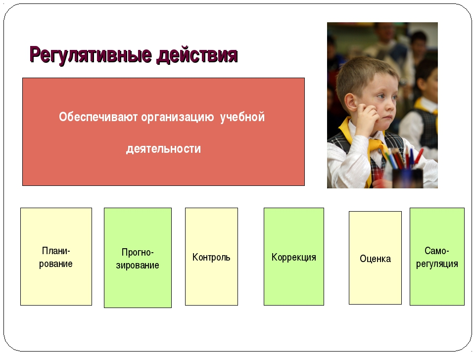 Обеспечивают организацию учебной деятельности Прогно- зирование Контроль Само...