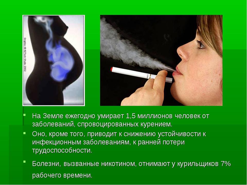 На Земле ежегодно умирает 1,5 миллионов человек от заболеваний, спровоцирован...