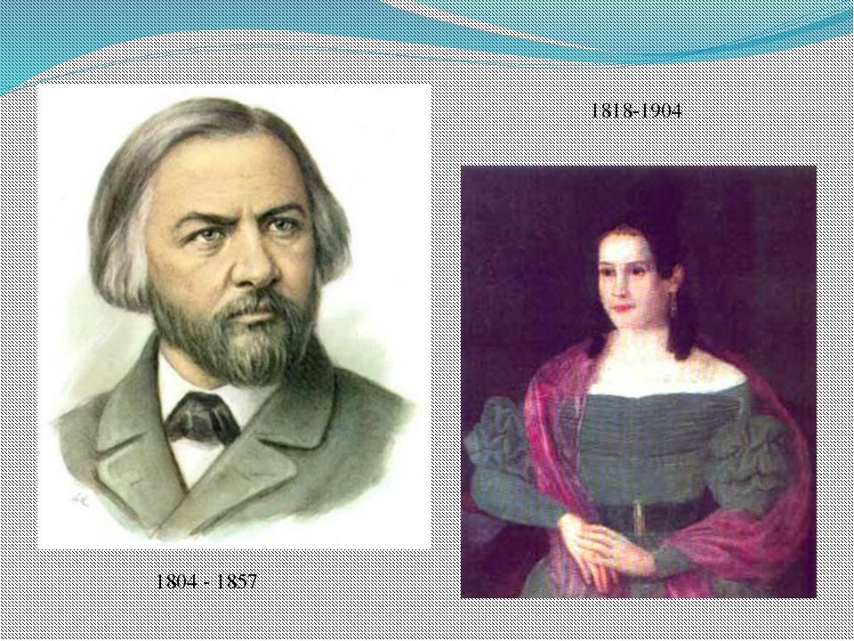 1818-1904 1804 - 1857 1804 - 1857