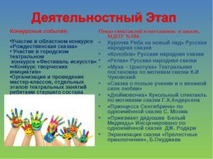 Конкурсные события: Участие в областном конкурсе «Рождественская сказка» Уча