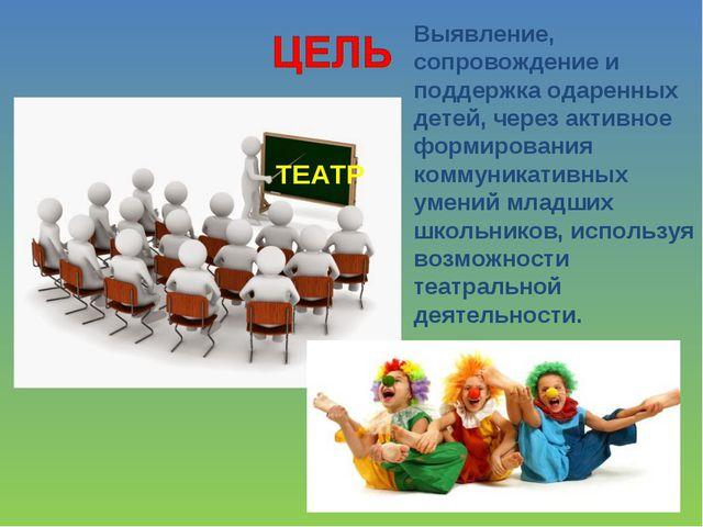 ТЕАТР Выявление, сопровождение и поддержка одаренных детей, через активное фо...