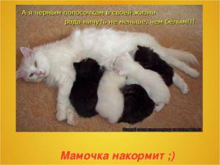 Мамочка накормит ;)