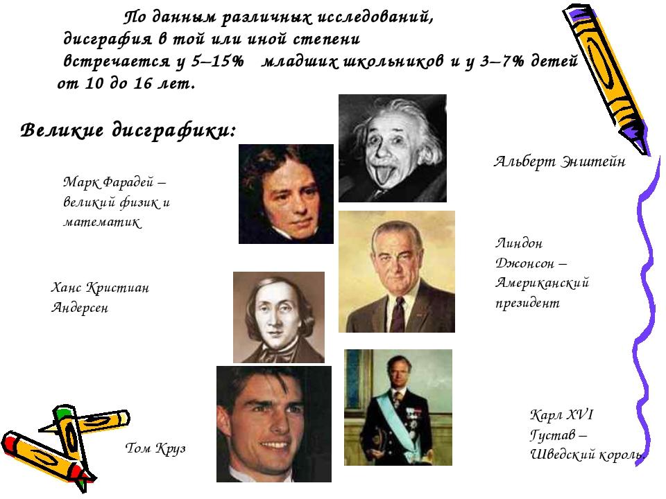 Альберт Энштейн Великие дисграфики: Марк Фарадей – великий физик и математик...