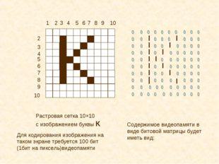 1 2 2 3 3 4 4 5 5 6 6 7 7 8 8 9 9 10 10 Растровая сетка 10×10 с изображением