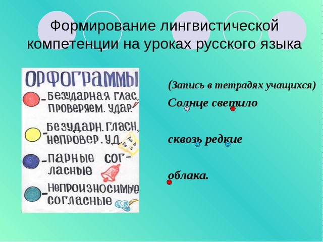 Формирование лингвистической компетенции на уроках русского языка (Запись в т...
