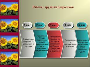 1 шаг 2 шаг 3 шаг 4 шаг Приведение сведений об учащемся в систему Проведение