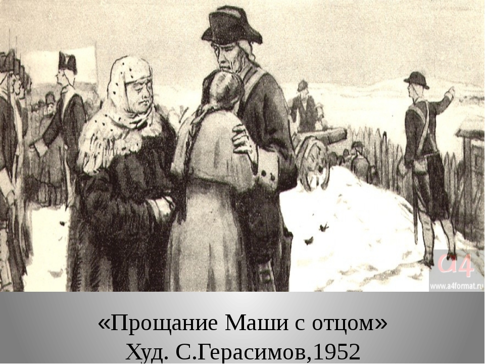 «Прощание Маши с отцом» Худ. С.Герасимов,1952