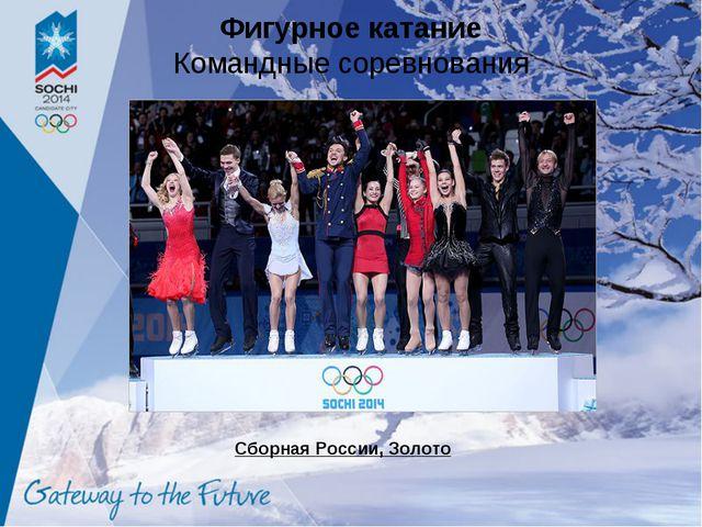 Фигурное катание Командные соревнования Сборная России, Золото