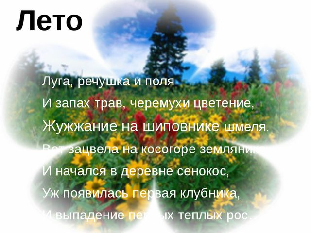 Луга, речушка и поля И запах трав, черемухи цветение, Жужжание на шиповнике ш...