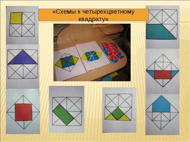 «Схемы к четырехцветному квадрату»