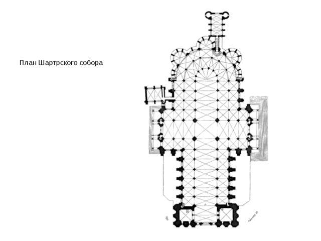 План Шартрского собора