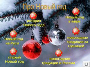 Новый год на Руси история Нового года старый Новый год Новый год в мире новог