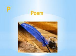 P Poem