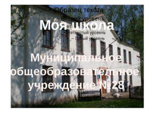 Муниципальное общеобразовательное учреждение №28 Моя школа