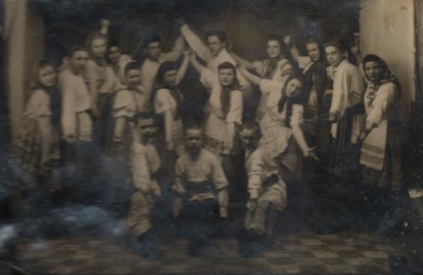кружок песни и пляски 1920 г