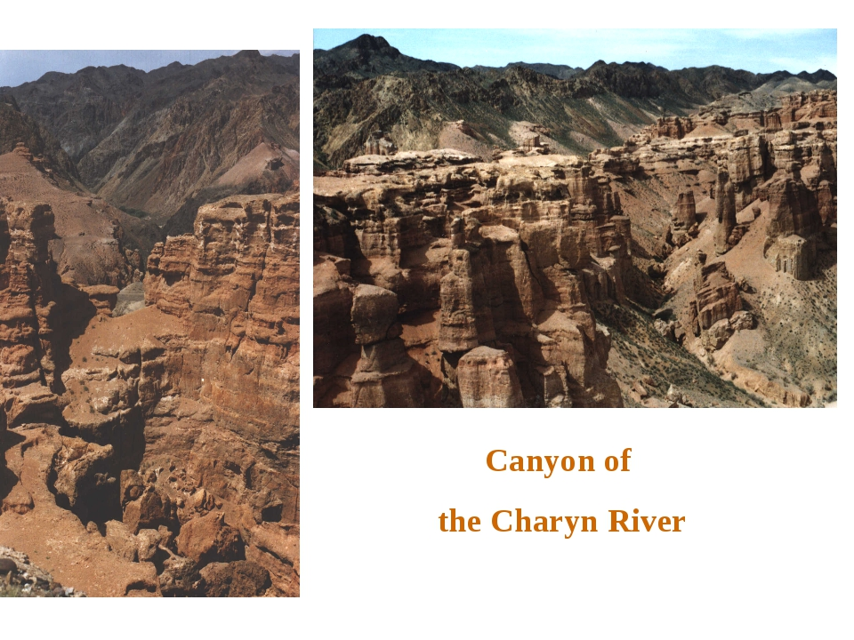 Canyon of the Charyn River