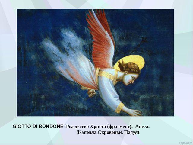 Беккафуми Доменико Рождество. Деталь: ангел и пастухи 1523-1524