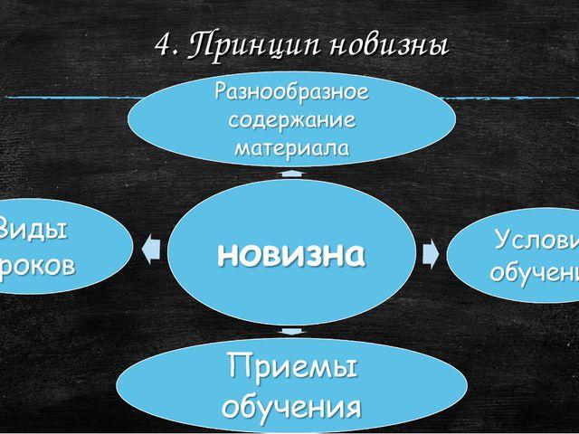 4. Принцип новизны
