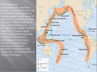 Тихоокеанское вулканическое «огненное кольцо»- это гигантский пояс вулканичес