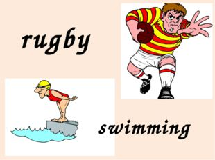rugby swimming