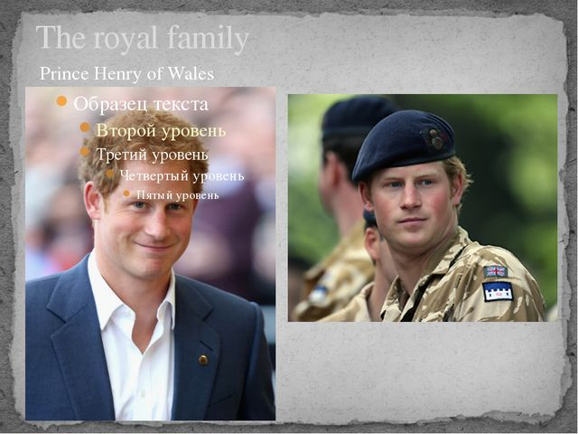 The royal family Prince Henry of Wales