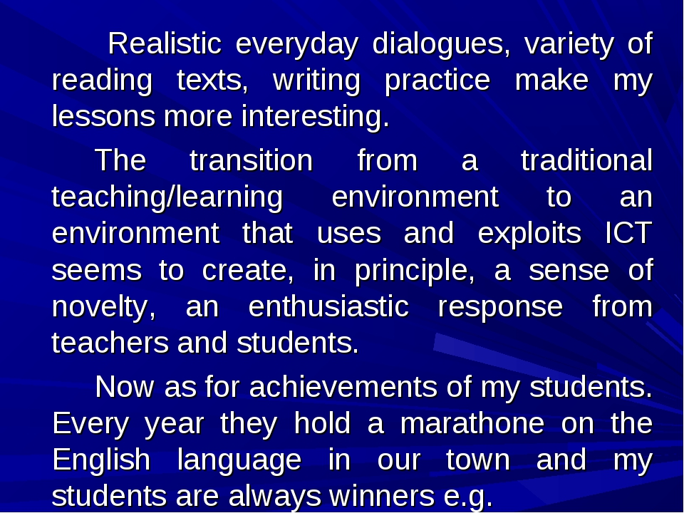 Realistic everyday dialogues, variety of reading texts, writing practice m...