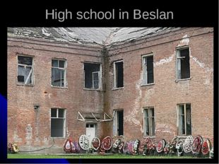 High school in Beslan