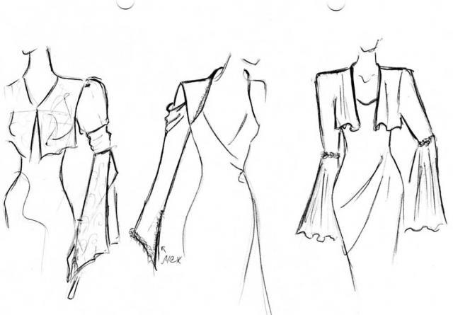 Как сделать эскизы для рукавов