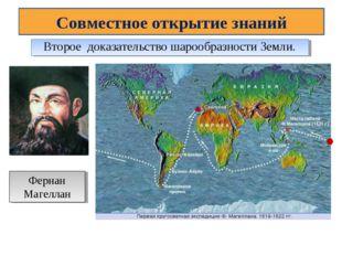 Совместное открытие знаний Второе доказательство шарообразности Земли. Фернан