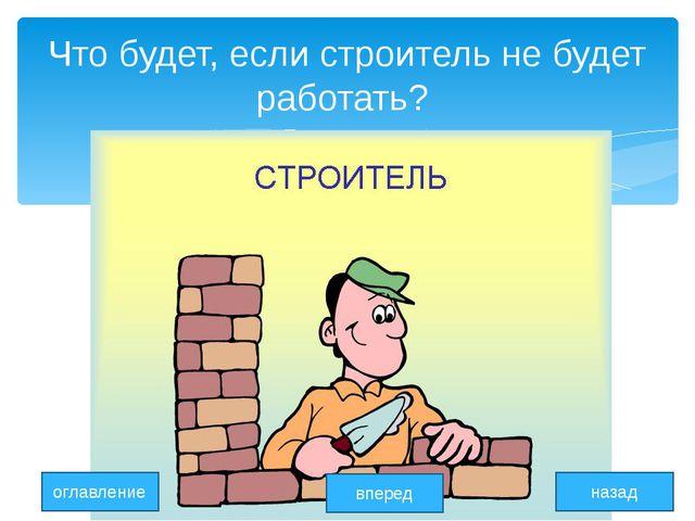 Что будет, если строитель не будет работать? оглавление вперед назад