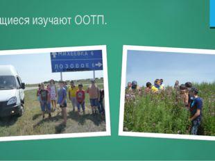 Учащиеся изучают ООТП.