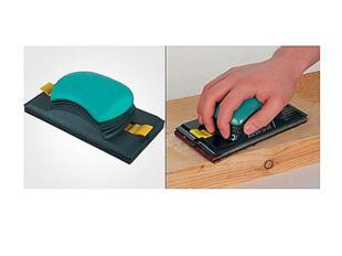 Изделия удобно зачищать деревянной шлифовальной колодкой, обтянутой наждачной