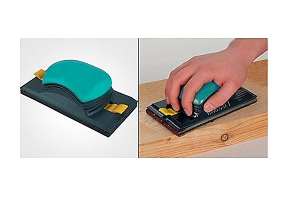 Изделия удобно зачищать деревянной шлифовальной колодкой, обтянутой наждачной...