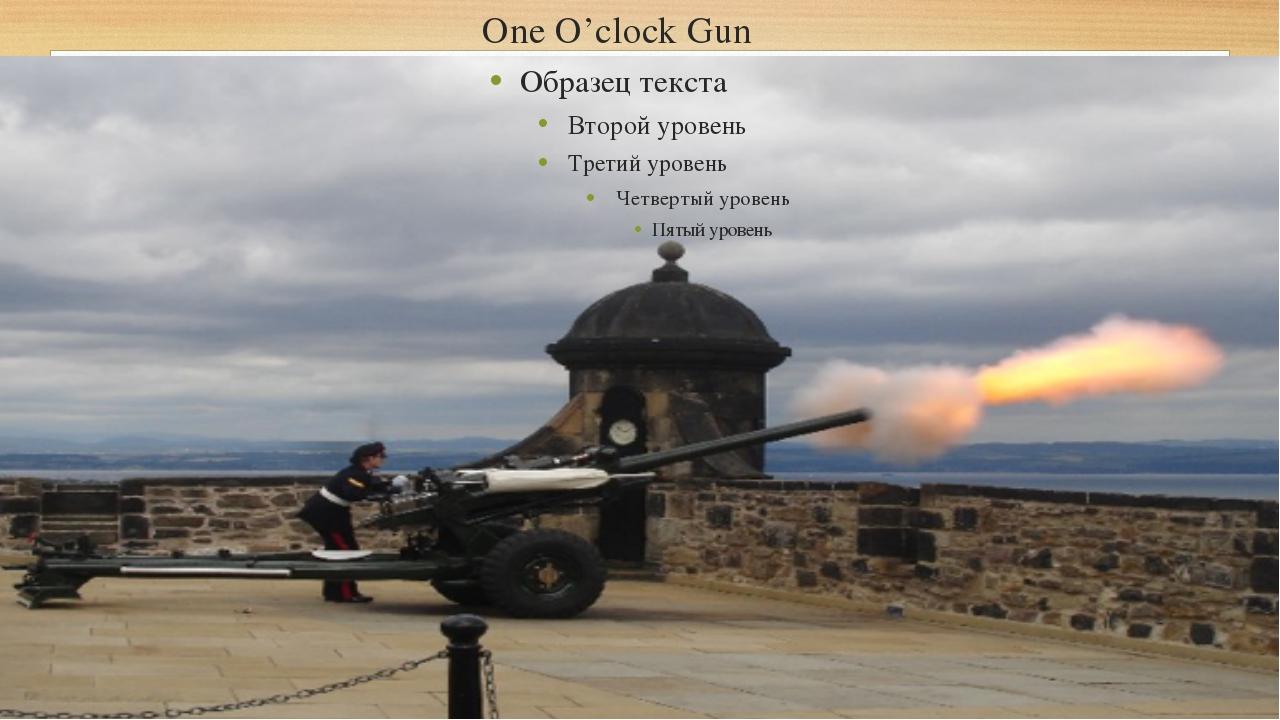 One O'clock Gun