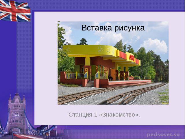 Станция 1 «Знакомство».