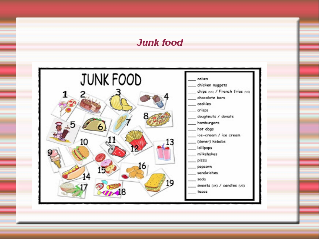 effects on junk food essay Free essays on harmful effects of junk food get help with your writing 1 through 30.