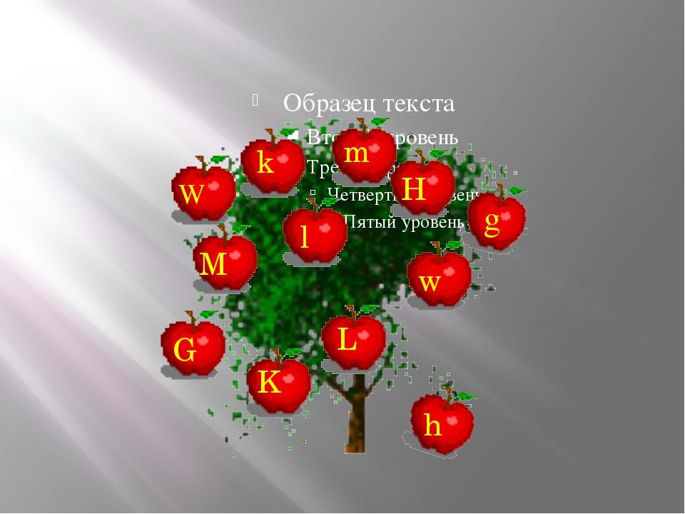 W M G K L H k l w m h g