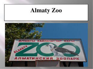 Almaty Zoo