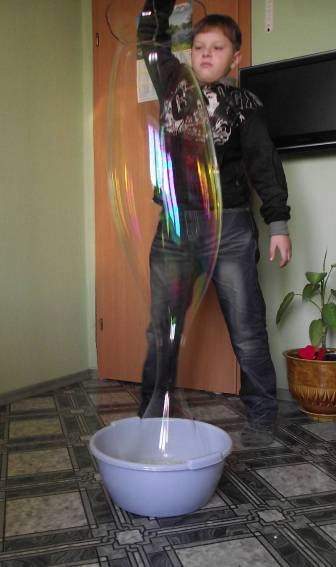 Презентация мыльные пузыри